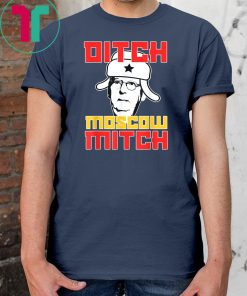 DITCH MOSCOW MITCH Senator McConnell Anti Turtle Face Meme T-Shirts