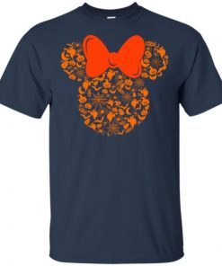 Disney Minnie Mouse Halloween Silhouette Icon T-Shirt