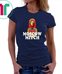 Funny Moscow Mitch Anti McConnell Shirt Russian Nesting Doll T-Shirt