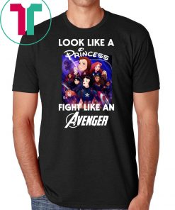 Look like a princess fight like an avenger poster disney shirt
