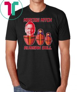 Moscow Mitch McConnell is Putin's Russian Doll T-Shirt