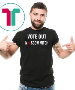 Moscow Mitch Vote Him Out And Lock Him Up Tee Shirt