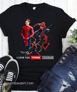 Tony parker spider-man I love you three thousand shirt