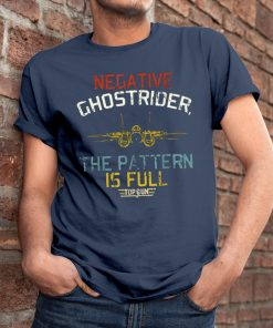 Vintage negative ghostrider the pattern is full Classic T-Shirt