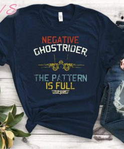Vintage negative ghostrider the pattern is full Unisex 2019 T-Shirt
