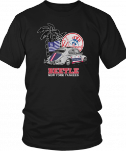 Volkswagen Beetle New York Yankees Unisex T-Shirt