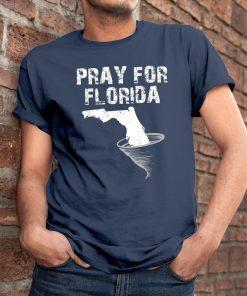 Pray For Hurricane Dorian 2019 Florida Storm T-Shirt
