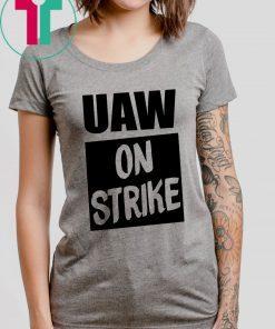 Uaw On Strike Black Offcial T-Shirt