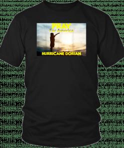 Pray for America Hurricane Dorian 2019 T-Shirt