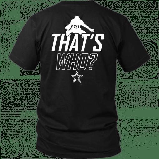 Zeke Who Dallas Cowboys Offcial T-Shirt