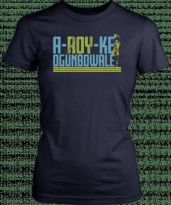 A-ROY-ke, Dallas, WNBPA Arike Ogunbowale T-Shirt