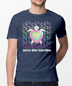 SKSKSK and I Oop... Save The Turtles Basic Girl Offcial T-Shirt