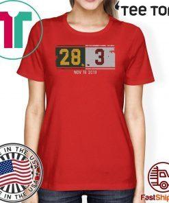 28-3 Comeback T-Shirt - Norman Okla