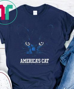 America's Cat Shirt Dallas Football Black Cat