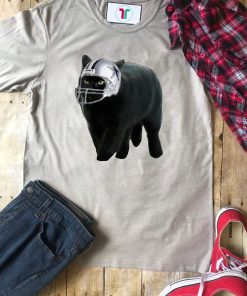 Funny Black Cat Dallas Cowboys T-Shirt