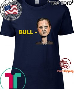 """Bull-Schiff"" T Shirt Trump 2020"