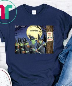 Trump Hunt Open Season Witch Shirt