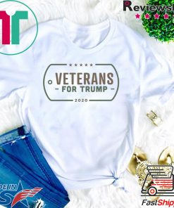 Veterans for Donald Trump 2020 Shirts