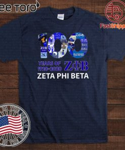 100 Years Of 1920 2020 Zeta Phi Beta Limited Edition T-Shirt