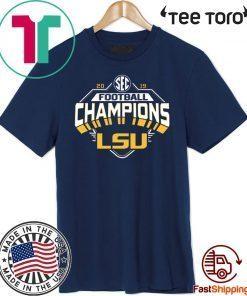 2019 LSU SEC Championship Classic T-Shirt