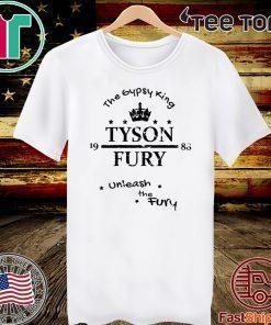 Tyson Fury The Gypsy King Unleash the Fury 2020 T-Shirt