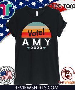 Vote Amy Klobuchar For 2020 T-Shirt