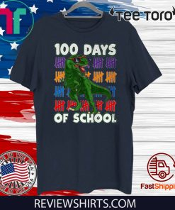 100 Days Of School 100th Day Dino Classic T-Shirt