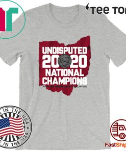 Undisputed Champs Columbus OH Basketball Shirt