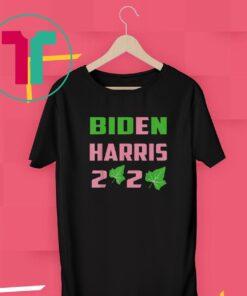 AKA Election Sorority Green and Pink Biden Harris 2020 Shirt