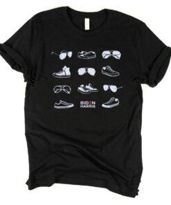 Aviators and Sneakers Biden Harris 2020 Shirt