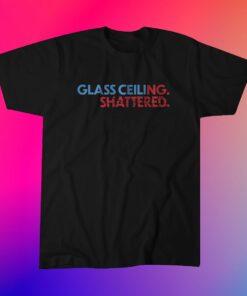 Glass Ceiling Shattered Miami Baseball T-Shirt