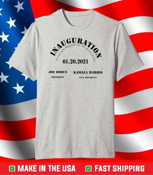 2021 Gift Inauguration Day President Joe Biden Democrat Kamala Harris Lover T-Shirt