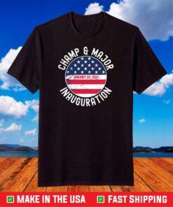 Champ and Major Joe Biden's First Dogs Inauguration Day T-Shirt