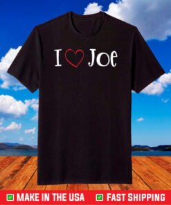 I Love Joe Biden - I Heart President Joe Biden T-Shirt