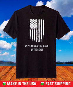 We've Braved The Belly of the Beast - The Hill We Climb T-Shirt