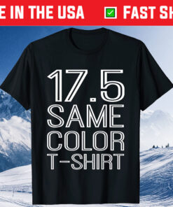 17.5 Same Color T-Shirt Basic Custome Classic T-Shirts