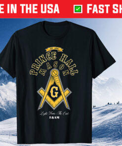 Prince Hall Mason Light From The East F&AM Father's Day Unisex Shirt