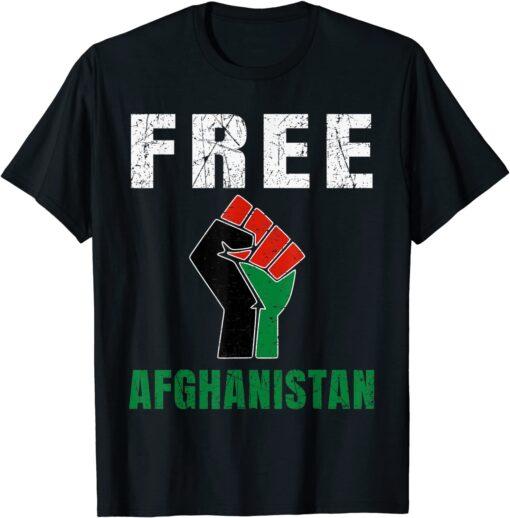 Free Afghanistan Save Kabul Tee Shirt