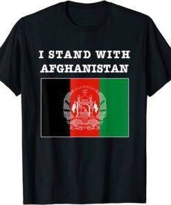 I Stand With Afghanistan Stand With Afghanistan Afghan Free Tee Shirt